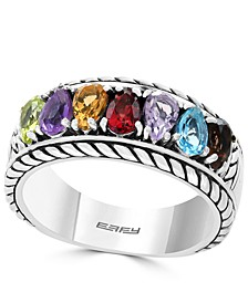 EFFY® Multi-Gemstone Statement Ring (1-5/8 ct. t.w.) in Sterling Silver