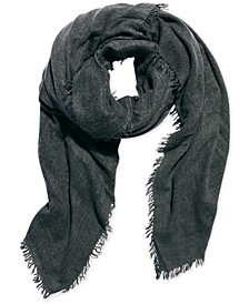 Sun-Washed Fringe Travel Scarf