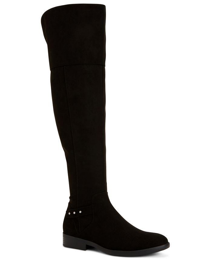 Style & Co - Lessah Wide-Calf Over-The-Knee Boots