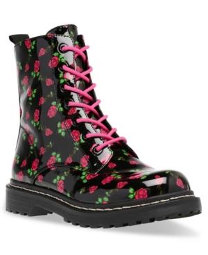 Women's Elite Lace-Up Lug Sole Combat Boot Women's Shoes
