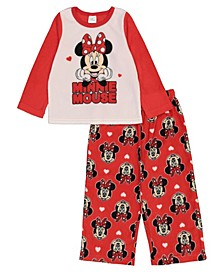 Minnie Mouse Toddler Girl 2 Piece Pajama Set