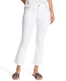 Sailor Cropped Flared Jeans