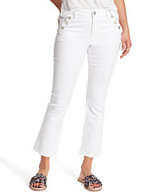 Sanctuary Sailors Kick Crop Jeans