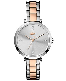 Women's Geneva Two-Tone Stainless Steel Bracelet Watch 32mm
