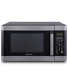 Black FMO16AHTBSD 1.6 Cu. Ft 1100-Watt Microwave Oven with Smart Sensor, Black Stainless Steel