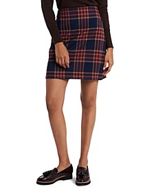 Ashton Plaid Pencil Skirt, Created for Macy's
