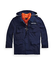 Toddler Boys Water-Resistant 3-In-1 Jacket