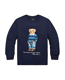 Toddler Boys Rugby Bear Jersey Tee