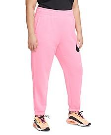 Plus Size Swoosh Fleece Pants