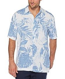 Men's Palm Frond-Print Shirt