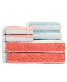 Dana 6 Piece Towel Set
