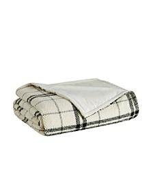 Popcorn Plaid Plush Blanket Collection