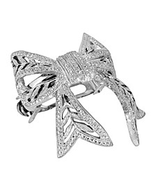 Women's Filigree Bow Ponytail Holder