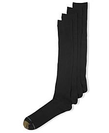 Men's Socks, ADC Canterbury 3 Pairs Crew Dress Socks + 1  Pair