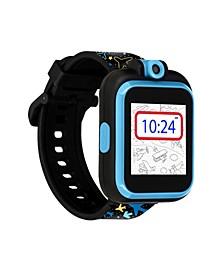 Kid's Playzoom 2 Airplane and Star Print Tpu Strap Smart Watch 41mm