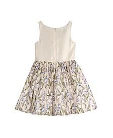 Big Girls Printed Lace Skirt Dress