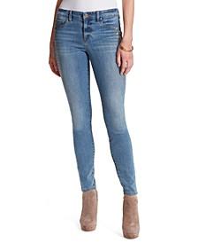 Kiss Me Stud-Detail Skinny Jeans