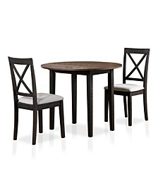 Rokeby 3-Piece Dining Table Set
