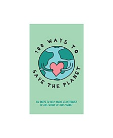 100 Ways to Save the Planet Cards