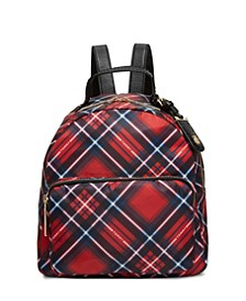 Julia Plaid Backpack