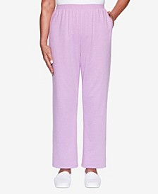 Women's Missy Long Weekend French Terry Proportioned Short Pant