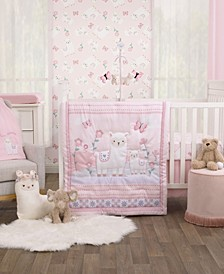 Infant Girl's Sweet llama and Butterflies Collection