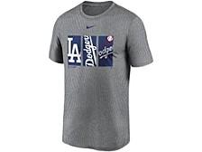 Men's Los Angeles Dodgers Triptych Logo Legend T-Shirt