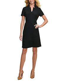 Tommy Hilfiger Jacquard A-Line Dress