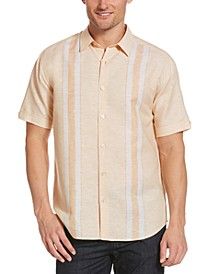 Men's Striped Panel Shirt