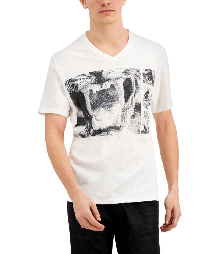 INC International Concepts INC Men's Meow T-Shirt, Created for Macy's  & Reviews - T-Shirts - Men - Macy's