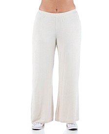 Women's Plus Size Comfortable Palazzo Lounge Pants