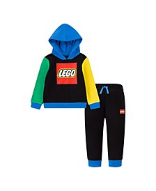 LEGO Toddler Boys Fleece Hoodie and Joggers Set