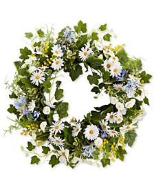 Daisy Wreath, Created for Macy's
