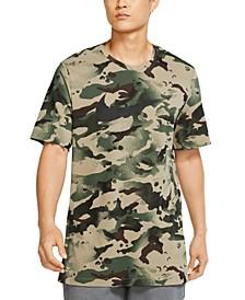 Men's Camouflage Training T-Shirt