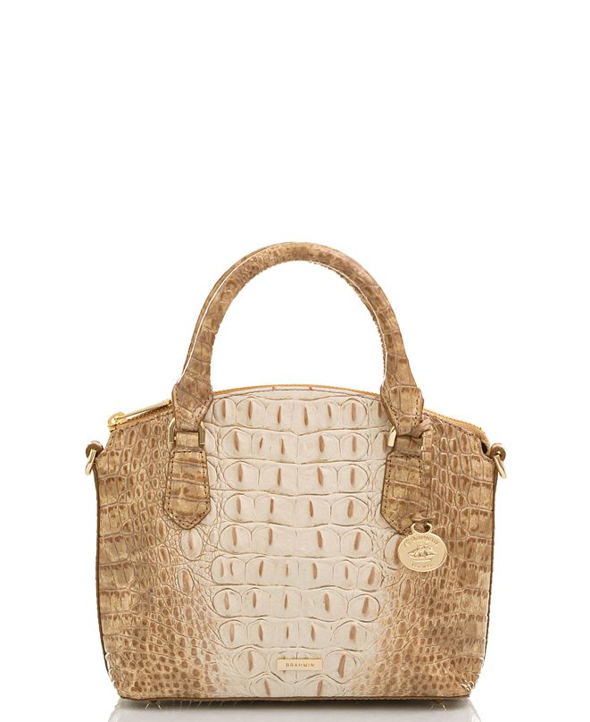 Brahmin Duxie Ombre Melbourne Embossed Leather Crossbody