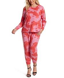 Trendy Plus Size Lisa Printed Top