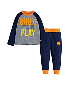 LEGO Little Boys Thermal Shirt and Joggers Set