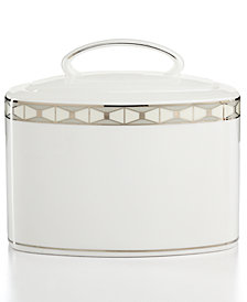 kate spade new york, Sugar Bowl with Lid