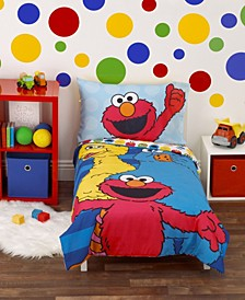 Toddler Boy's Best Friends Toddler Bed Set, 4 Piece