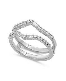 Diamond Enhancer Ring Guard (3/8 ct. t.w.) in 14K White or Yellow Gold