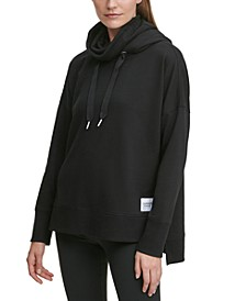 Face Mask Funnel Neck Hoodie