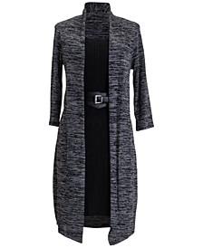 2-For-1 Belted Jacket Dress