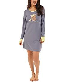 Baby Yoda Sleepshirt Nightgown