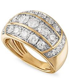 Men's Diamond Ring (3 ct. t.w.) in 10k Gold