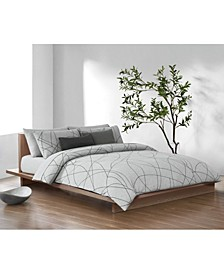 Scribble Modern Cotton Duvet Set