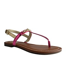 Lowis Flat Sandals