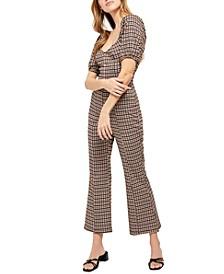 Oxford Knit Jumpsuit