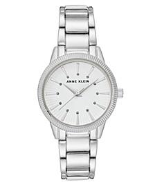 Silver-Tone Watch 32mm