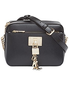 Elissa Small Leather Top Zip Crossbody
