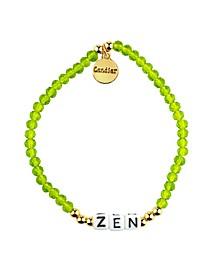 Zen 18k Gold Plated Crystal Bracelet